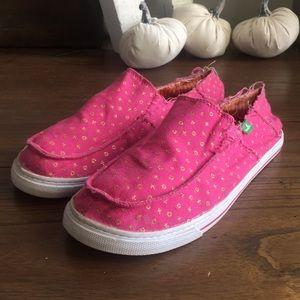 Sanuk xoxo Loafer Flats Size 6